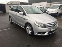 2012 MERCEDES-BENZ B CLASS 1.8 B180 CDI BLUEEFFICIENCY SE 5d AUTO 109 BHP £7450.00