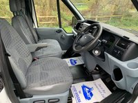 USED 2011 61 FORD TRANSIT DOUBLE CREW CAB NEW ALLOY ARBORIST TIPPER 1 OWNER