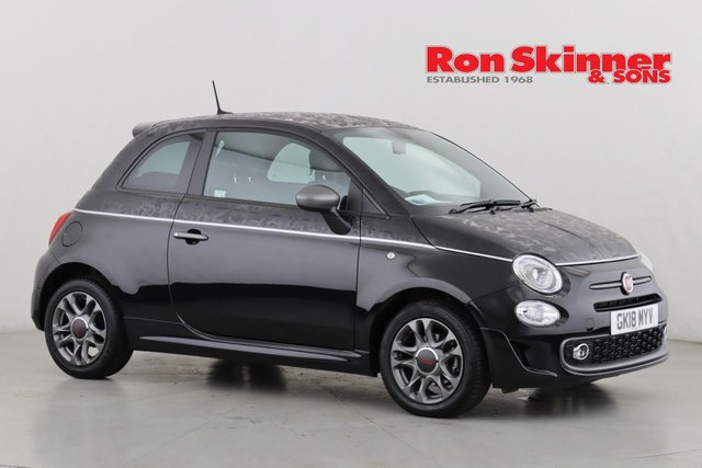 View our 2018 18 FIAT 500 1.2 S 3d 69 BHP with Second Skin - Camouflage