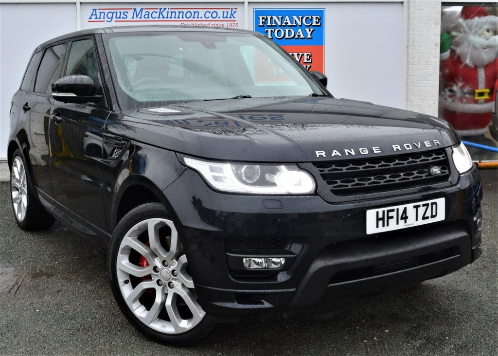 USED 2014 14 LAND ROVER RANGE ROVER SPORT 3.0 SDV6 AUTOBIOGRAPHY DYNAMIC 5d 4x4 Family SUV AUTO with Unbelievable Massive High Spec Full Service History Recent Service and MOT MASSES OF INCREDIBLE HIGH SPEC