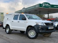 USED 2015 15 TOYOTA HI-LUX 2.5 ACTIVE 4X4 D-4D DCB 142 BHP One Owner, Finance Arranged, Only 48,000 Miles, Tow Bar.