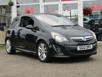 USED 2012 12 VAUXHALL CORSA 1.4 SRI 3d 98 BHP PART EXCHANGE TO CLEAR. CLEARANCE TERMS AND CONDITIONS APPLY, may require some mechanical and cosmetic attention, please ring for details. Please note that we DO NOT ACCEPT FINANCE APPLICATIONS, CREDIT CARDS or PART EXCHANGES in part or full payment against this car. Serviced at 7052 miles, 16956 miles, 26663 miles, 43300 miles and at 68254 miles.