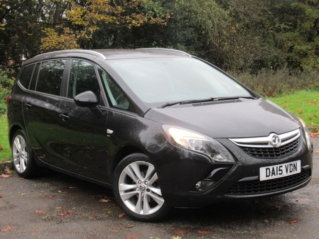 USED 2015 15 VAUXHALL ZAFIRA TOURER 1.6 SRI CDTI ECOFLEX S/S 5d 134 BHP 7 SEATER FAMILY CAR, ALLOYS