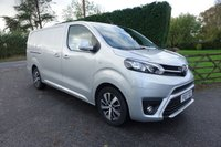 USED 2017 17 TOYOTA PROACE COMFORT / PREMIUM PACK 2.0 L2 LWB 120 BHP Photos Pre Preparation, Direct From leasing Company 52000 Miles & Balance Of Toyota Warranty! Popular LWB Model With Additional Premium Pack! Real Eye Catching Van In Silver!