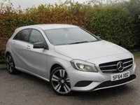 USED 2014 64 MERCEDES-BENZ A CLASS 1.6 A180 BLUEEFFICIENCY SPORT 5d AUTOMATIC * AUTOMATIC * FULL HEATED SPORT LEATHER SEATS *