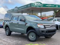 USED 2013 63 FORD RANGER RANGER 2.2 XL DOUBLE CAB 4X4 Direct From Ministry of Defence, BF Goodrich Mud-Terrain T/A Tyres, Low Mileage, Nato Tow Hitch.