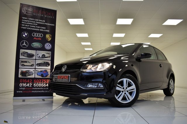 2017 17 VOLKSWAGEN POLO 1.2 MATCH EDITION TSI 3 DOOR