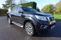 USED 2016 16 NISSAN NP300 NAVARA TEKNA 4X4 DOUBLE CAB PICK UP AUTO 2.3 DCI 190 BHP Direct From Leasing Company 13000 Miles & FSH, Top Of Range Tekna Automatic With Additional Lift Up Mountain Top! First Class Example, Viewing Recommended!