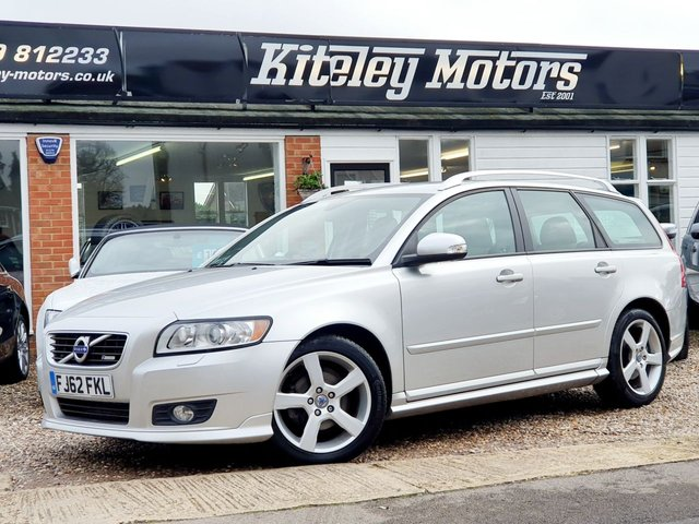 2012 62 VOLVO V50 1.6 D2 R-DESIGN EDITION £30 ROAD TAX!