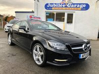 USED 2013 13 MERCEDES-BENZ CLS CLASS 2.1 CLS250 CDI SPORT AMG 4d AUTO 204 BHP Sat Nav, Bluetooth, Leather, 12 Months MOT & Service