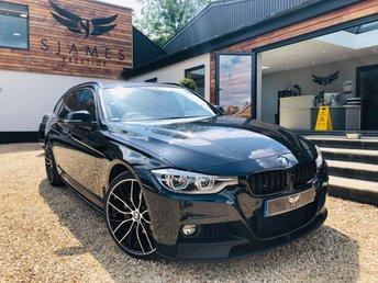2017 BMW 3 SERIES 2.0 320D XDRIVE M SPORT TOURING 5d 188 BHP £19990.00