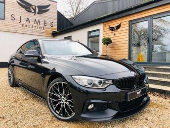 2018 BMW 4 SERIES 2.0 420D M SPORT 2d 188 BHP £19490.00