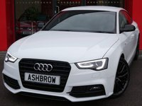 2015 AUDI A5 SPORTBACK 2.0 TDI BLACK EDITION PLUS 5d 190 S/S £14743.00