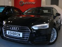 USED 2017 67 AUDI A5 2.0 TDI ULTRA SE 2d 190 S/S NEW SHAPE, 1 OWNER, BALANCE OF AUDI WARRANTY, SERVICE HISTORY, FRONT & REAR PARKING SENSORS WITH DISPLAY, FULL LEATHER INTERIOR, HEATED FRONT SEATS, XENON HEADLIGHTS WITH LED DAYTIME RUNNING LIGHTS, AUDI SMARTPHONE FOR APPLE CAR PLAY OR ANDROID AUTO,7 INCH 15 SPOKE ALLOY WHEELS, AUDI CONNECT, CRUISE CONTROL WITH SPEED LIMITER, LIGHT & RAIN SENSORS, LEATHER MULTIFUNCTION STEERING WHEEL, KEYLESS START, DAB RADIO, BLUETOOTH PHONE & MUSIC STREAMING, WIFI, AUX & 2x USB INPUTS, DRIVE SELECT, VAT Q