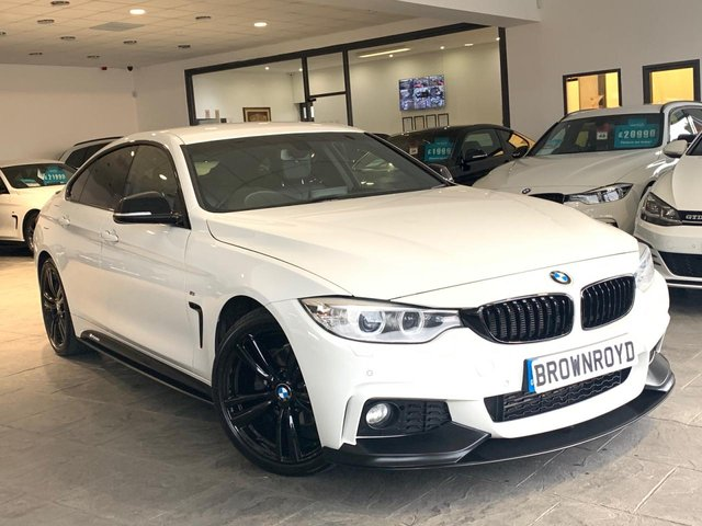 USED 2015 65 BMW 4 SERIES GRAN COUPE 2.0 420D M SPORT GRAN COUPE 4d 188 BHP BM PERFORMANCE STYLING+SAT NAV