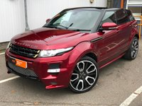 USED 2013 63 LAND ROVER RANGE ROVER EVOQUE 2.2 SD4 DYNAMIC LUX 5d AUTO 190 BHP FULL OVERFINCH KIT INC SEATS