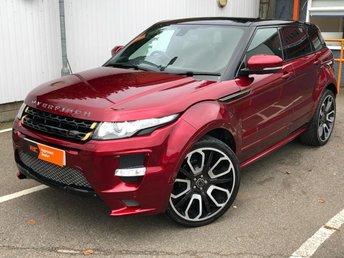2013 LAND ROVER RANGE ROVER EVOQUE 2.2 SD4 DYNAMIC LUX 5d AUTO 190 BHP £23990.00