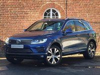 USED 2016 16 VOLKSWAGEN TOUAREG 3.0L V6 R-LINE TDI BLUEMOTION TECHNOLOGY 5d AUTO 259 BHP