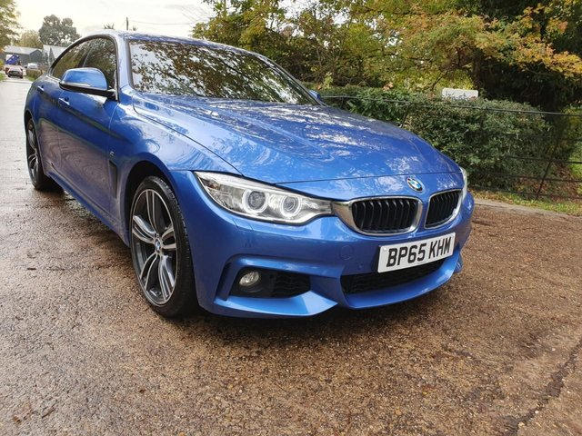 2015 65 BMW 4 SERIES 3.0 435D XDRIVE M SPORT GRAN COUPE 4d 309 BHP