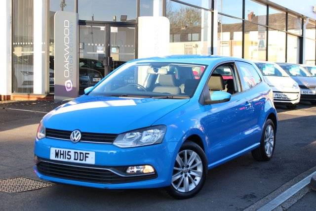 USED 2015 15 VOLKSWAGEN POLO 1.2 TSI BlueMotion Tech SE (s/s) 3dr