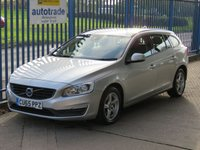 USED 2015 65 VOLVO V60 2.0 D4 BUSINESS EDITION 5d 188 BHP