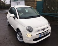 USED 2016 66 FIAT 500 1.2 ECO POP STAR 3d 69 BHP One Former Owner Full Service History
