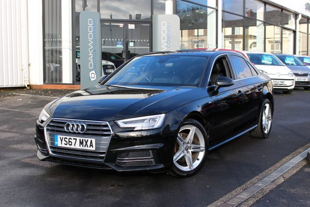 USED 2017 67 AUDI A4 1.4 TFSI S line (s/s) 4dr