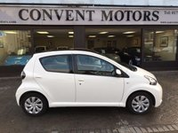 USED 2014 64 TOYOTA AYGO 1.0 VVT-I MOVE MM 5d AUTO 68 BHP