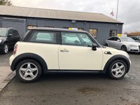 USED 2010 10 MINI HATCH COOPER 1.6 COOPER 3d 118 BHP ALLOY WHEELS * HALF LEATHER SEATS