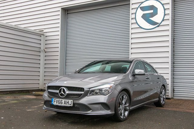 USED 2016 66 MERCEDES-BENZ CLA 2.1 CLA 200 D SPORT 4d AUTO