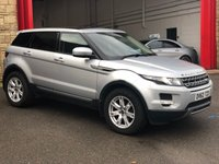 2012 LAND ROVER RANGE ROVER EVOQUE 2.2 SD4 PURE TECH 5d 190 BHP £12484.00