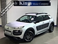 USED 2016 16 CITROEN C4 CACTUS 1.2 PURETECH FEEL S/S 5dr 110 BHP SAVE OVER £10,000 On NEW !!! , £0 Tax, 65.7 MPG, LOW MILES, FSH
