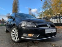 USED 2013 13 VOLKSWAGEN PASSAT 2.0 HIGHLINE TDI BLUE TECH 4d 139BHP 2 KEY+30 ROAD TAX+SATNAV+MEDIA+1 FORM KEEPER+FSH 5STAMPS+USB+AUX+
