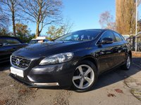 USED 2013 13 VOLVO V40 1.6 D2 SE 5d 113 BHP 1 OWNER FROM NEW+ALLOYS+AUX+0 TAX+USB+MEDIA+CLIMATE CONTROL+CD+