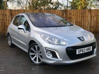USED 2013 63 PEUGEOT 308 1.6 E-HDI ACTIVE NAVIGATION VERSION 5d 115 BHP Full Service History