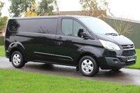 USED 2015 15 FORD TRANSIT CUSTOM 2.2 290 LIMITED LR P/V 124 BHP - Black Limited Long Wheel Base Warranty -
