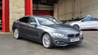2014 BMW 4 SERIES 2.0 418D LUXURY GRAN COUPE 4d AUTO 141 BHP £13984.00