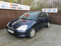 USED 2002 52 HONDA CIVIC 1.4 SE 5d 88 BHP SEE FINANCE LINK FOR DETAILS