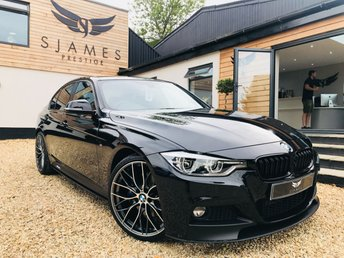 2017 BMW 3 SERIES 2.0 320D M SPORT SHADOW EDITION 4d 188 BHP £17990.00