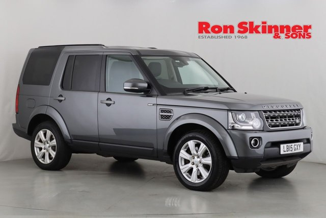 View our 2015 15 LAND ROVER DISCOVERY 3.0 SDV6 SE TECH 5d AUTO 255 BHP