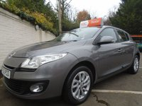 USED 2013 62 RENAULT MEGANE 1.6 EXPRESSION PLUS 5d 110 BHP GUARANTEED TO BEAT ANY 'WE BUY ANY CAR' VALUATION ON YOUR PART EXCHANGE