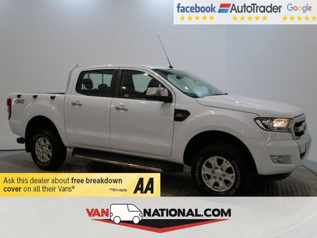 USED 2016 66 FORD RANGER 2.2 XLT 4X4 DCB TDCI 4d 160 BHP (READY TO GO TODAY) * 1 OWNER * 12 MONTH WARRANTIES AVAILABLE FROM JUST £199 *