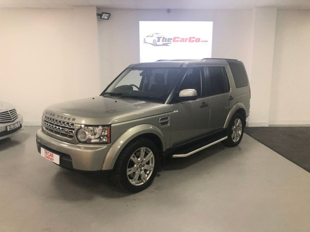 2010 10 LAND ROVER DISCOVERY 3.0 4 TDV6 GS 5d 245 BHP