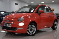 USED 2016 16 FIAT 500 1.2 LOUNGE 3d 69 BHP STUNNING PINK FIAT 500 + GREAT HISTORY, 3 STAMPS!