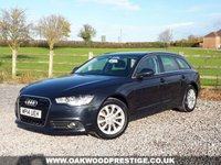 USED 2014 14 AUDI A6 2.0 AVANT TDI SE 5d 175 BHP ONLY 2 OWNERS FROM NEW WITH FULL SERVICE HISTORY