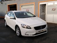"""USED 2016 65 VOLVO V40 2.0 D2 ES 5d 118 BHP 16"""" Alloys, Buetooth, Media Player,  Cruise Control, 4 Service Stamps"""