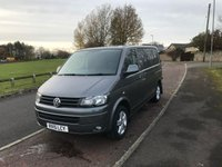 2015 VOLKSWAGEN TRANSPORTER 2.0 T28 TDI HIGHLINE 180 BHP IN METALIC GREY NO VAT SOLD