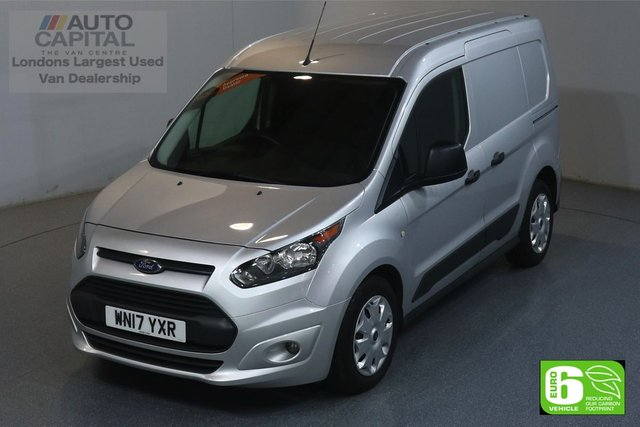 2017 17 FORD TRANSIT CONNECT 1.5 200 TREND 100 BHP SWB EURO 6 ENGINE VOICE CONTROL, HEATED SCRREN