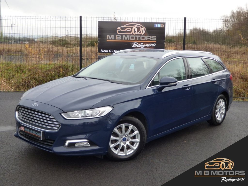 USED 2016 FORD MONDEO ZETEC ECONETIC ESTATE 2.0TDCI 5d 148 BHP