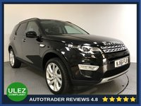 USED 2016 66 LAND ROVER DISCOVERY SPORT 2.0 TD4 HSE LUXURY 5d AUTO 180 BHP LAND ROVER HISTORY - 1 OWNER - 7 SEATS - SAT NAV - PAN ROOF - LEATHER - PARKING SENSORS - CAMERA - AIR CON - BLUETOOTH - DAB